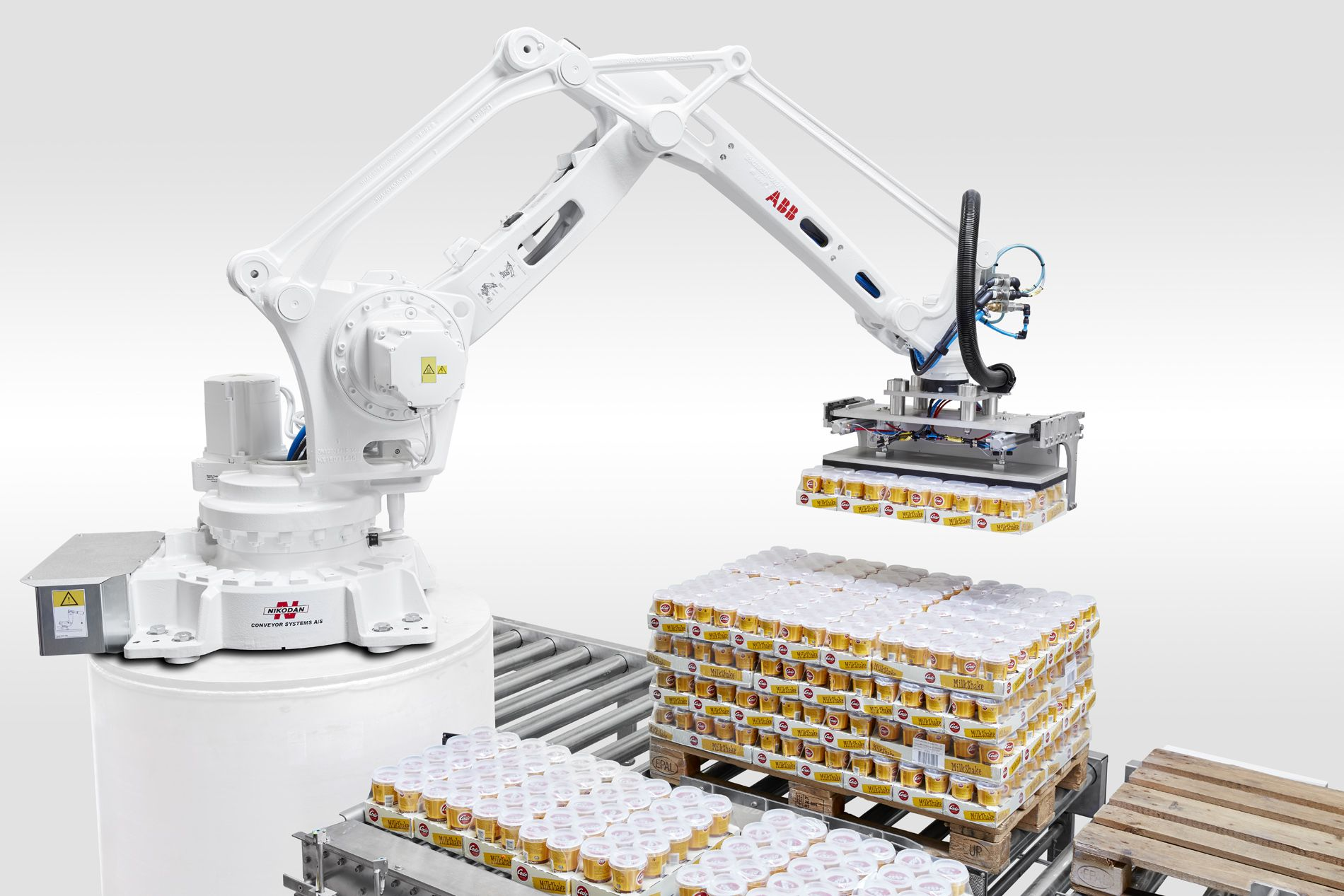 Pick and place robot automation