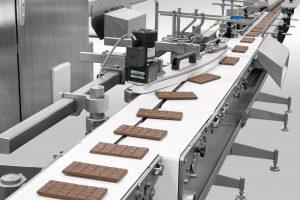 Chocolate Turner conveyor system