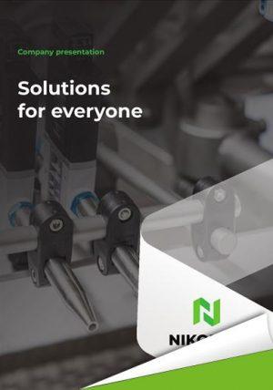 Thumbnail for NIKODAN's interactive brochure